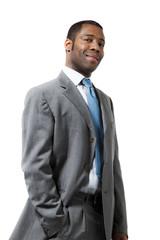 uomo d'affari africano