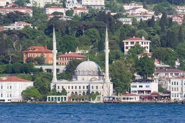 Mosque at the Bosphorus waterfront