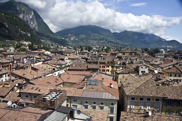 Riva del Garda city