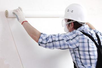 attaching wallpaper