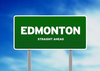 Edmonton Highway  Sign