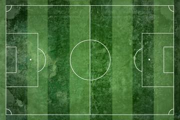 Grunge football field texture