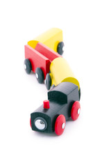 Children's Toy train, wood ready.