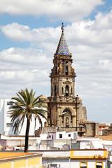 Iglesia de San Miguel in Jerez de la Frontera, Spanien