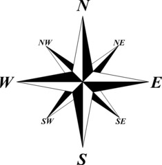 Fototapeta compass wind rose obraz