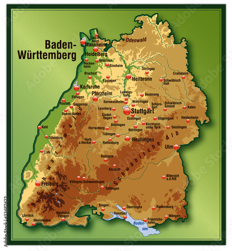 Quot Baden W 252 Rttemberg Mit H 246 Henschichten Quot Stockfotos Und