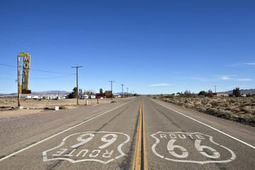 Foto op Plexiglas Route 66 Bagdad California - Historic Route 66