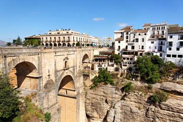 Ronda mit Puente Nuevo, Spanien