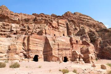 Renaissanca tomb, Wadi al-Farasa valley, Petra