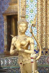 Thai style sculpture, Bangkok, Thailand