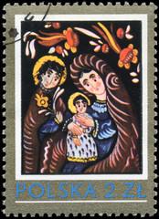 POLAND - CIRCA 1979 Holy Family