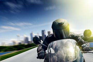 Wall Mural - Motorbike