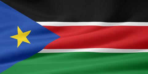 Flagge von Südsudan