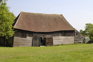Old timber barn
