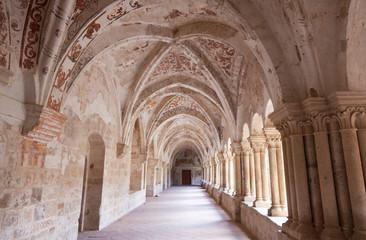 Claustro del Monasterio de Santa María de Valbuena