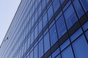 Modern building facade.