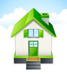 maison - green house