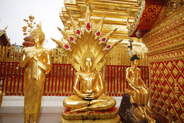 Buddha statue in Thai