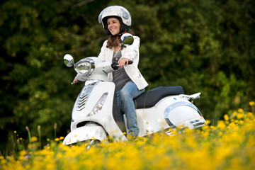 Das erste Moped
