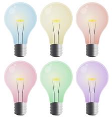 set color light bulb