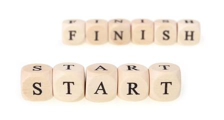 Start -> Finish