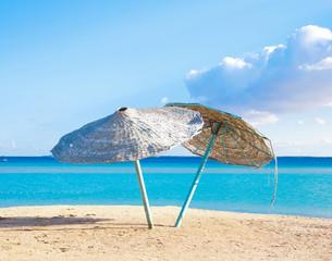 Resort Beach Scene