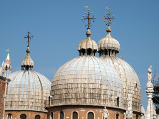 The dome of the Basilica San Marco in Venice