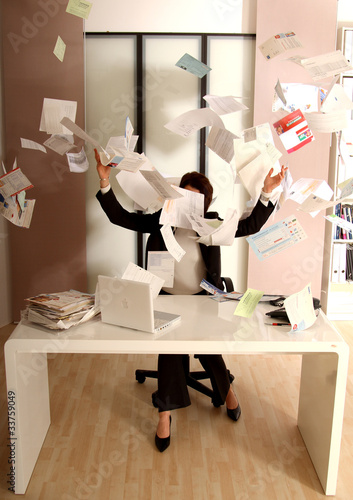 Chaos Im Buro Stock Photo And Royalty Free Images On Fotolia Com