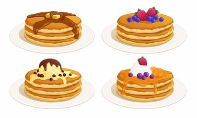 Delicious Pancakes Set