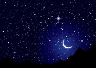 Space nights sky