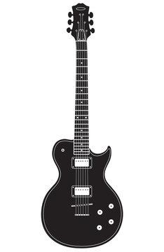 Les Paul shaped guitar