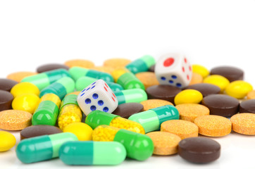 Dices and medicine
