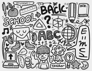 doodle school.