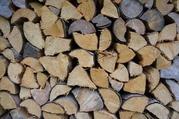 Hintergrund Brennholz