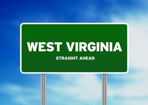 West Virginia Highway Sign