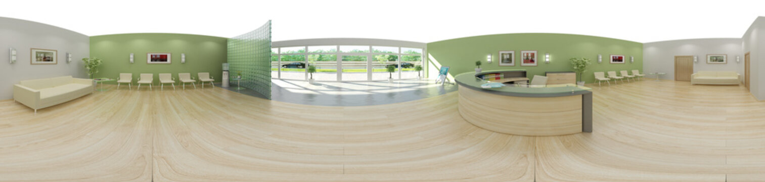 Entrance Area: 360°-Panorama