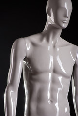 Male fashion mannequin