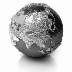 Silver Globe - Asia