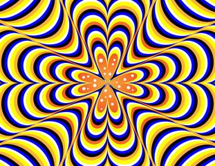 Poster de jardin Psychedelique Vertigo-go