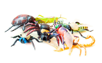 Toy Insects Lot