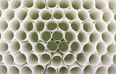 Above view cigarette tubes