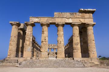 Il tempio di Era a Selinunte