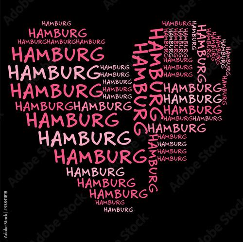 i love hamburg ich liebe hamburg stockfotos und. Black Bedroom Furniture Sets. Home Design Ideas