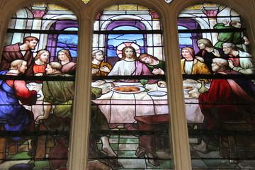 Foto op Plexiglas Stained Paris05 - Église Saint-Jacques-du-Haut-Pas