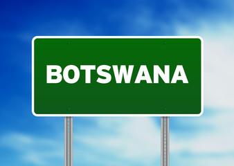 Botswana Highway Sign