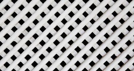 white wood lattice texture