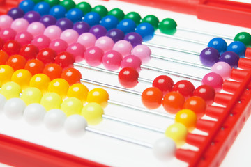 Abacus toy calculator