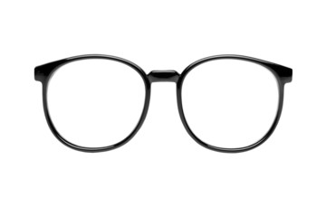 Nerd glasses isolated on white
