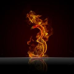 Feuertext Effekt Nummer 3