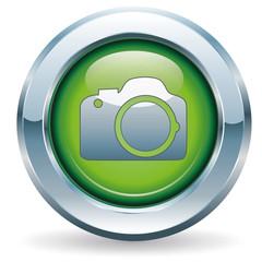 Kamera - Button grün